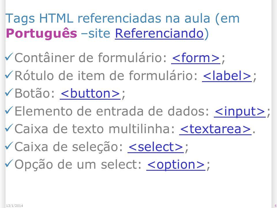 Referências complementares Firefox 2.0 and Access Keys – http://juicystudio.com/article/firefox2- accesskeys.php#realsolution http://juicystudio.com/article/firefox2- accesskeys.php#realsolution – Discussão sobre teclas de acesso no Firefox Avaliador de Acessibilidade – https://www.governoeletronico.gov.br/acoe s-e-projetos/e-MAG/ases-avaliador-e- simulador-de-acessibilidade-sitios https://www.governoeletronico.gov.br/acoe s-e-projetos/e-MAG/ases-avaliador-e- simulador-de-acessibilidade-sitios Recomendações acessibilidade – http://www.geocities.com/claudiaad/acessi bilidade_web.html http://www.geocities.com/claudiaad/acessi bilidade_web.html 5713/1/2014