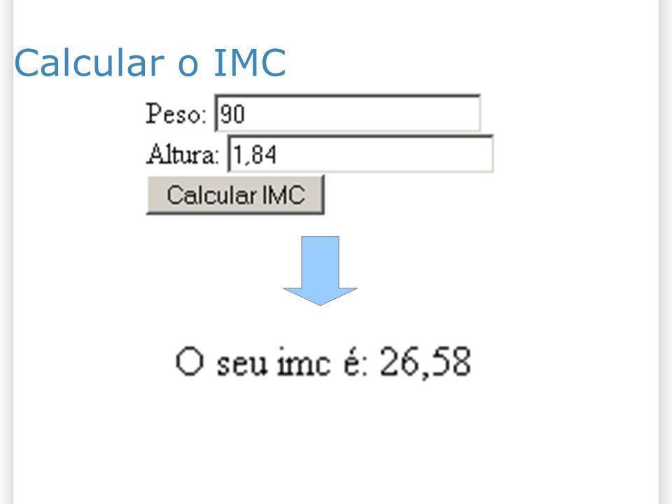 Calcular o IMC