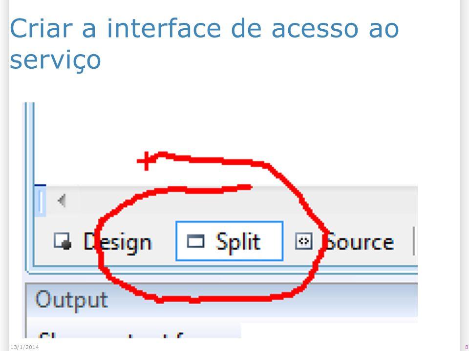 Salvar o arquivo em uma pasta qualquer (C:\Temp?) 2913/1/2014 Faça apenas se acontecer erro quando adicionar o serviço;