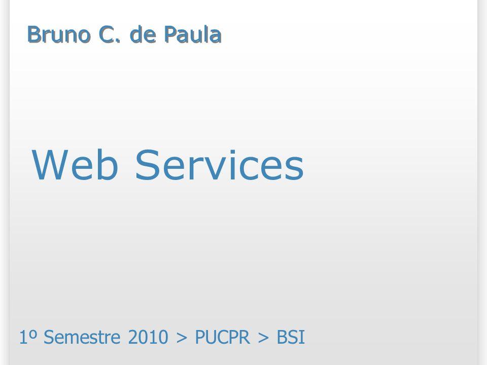Exemplo de chamada a um serviço 32 Mais exemplos: http://local.yahooapis.com/MapsService/V1/mapImage?appid=YD-4g6HBf0_JX0yq2IsdnV1Ne9JTpKxQ3Miew-- &city=Curitiba http://search.twitter.com/search.atom?q=PUCPR http://search.twitter.com/search.json?q=PUCPR&callback=exibirResultados http://maps.google.com/maps/api/geocode/json?address=1155+Imaculada+Conceicao,Curitiba&sensor=false http://iplocationtools.com/ip_query_country.php?ip=74.125.45.100 http://www.spore.com/static/model/500/226/147/500226147573.xml...