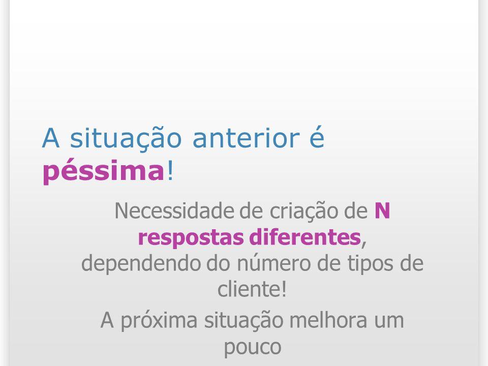 Modelo tradicional 29 Clientes Premier Clientes Regulares Reserva de Passagem Resposta Automática Premier Customer Representative Regular Customer Representative