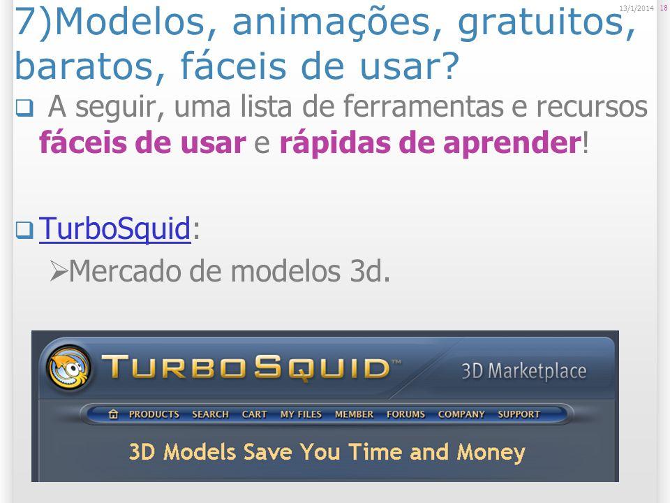 7)Modelos, animações, gratuitos, baratos, fáceis de usar? A seguir, uma lista de ferramentas e recursos fáceis de usar e rápidas de aprender! TurboSqu
