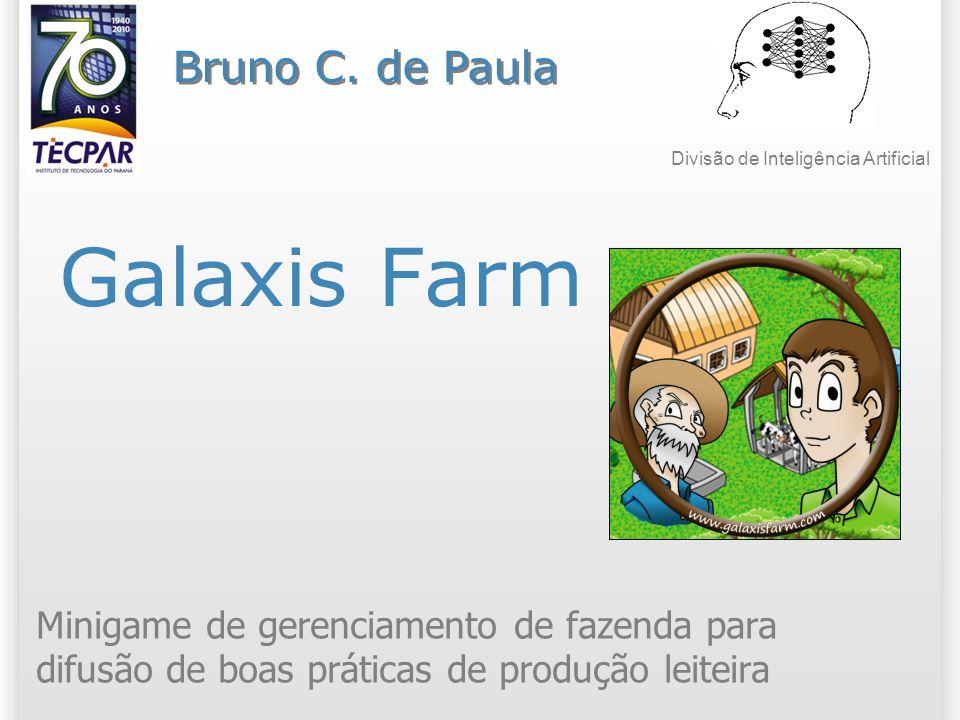 Galaxis Farm Minigame de gerenciamento de fazenda para difusão de boas práticas de produção leiteira Bruno C.