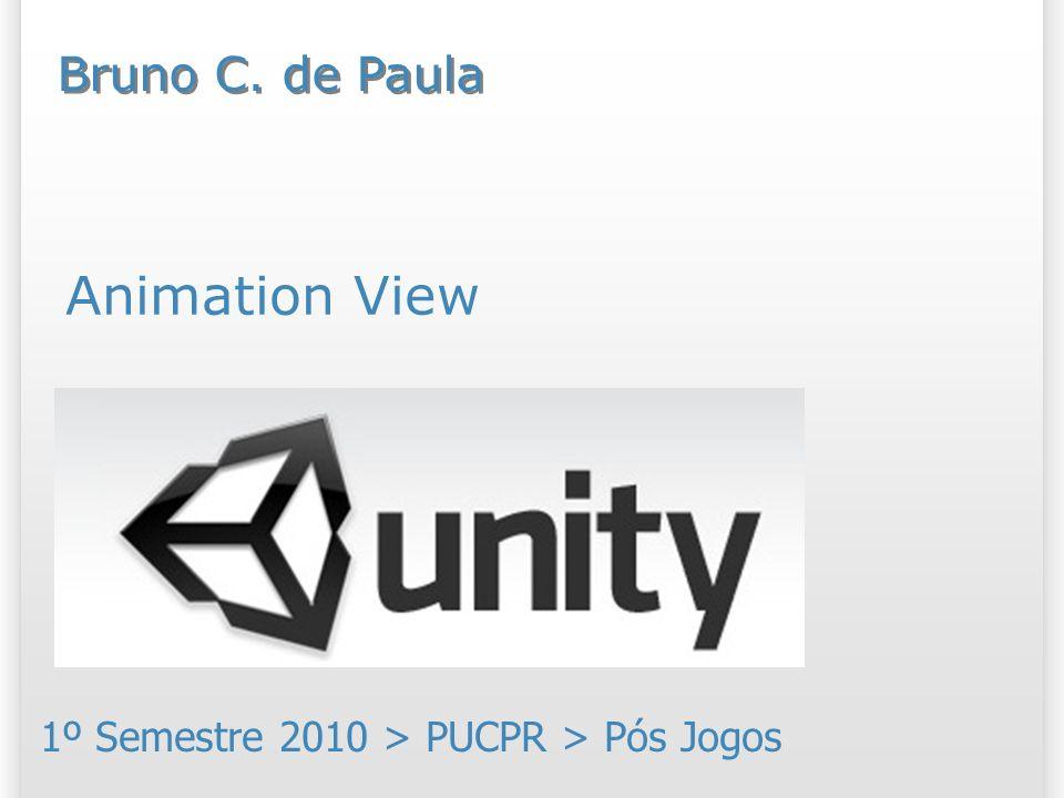 Resumo Nosso objetivo é conhecer a visualização de animação (Animation View) do Unity; Esta visualização permite a criação de animações dentro da própria ferramenta;