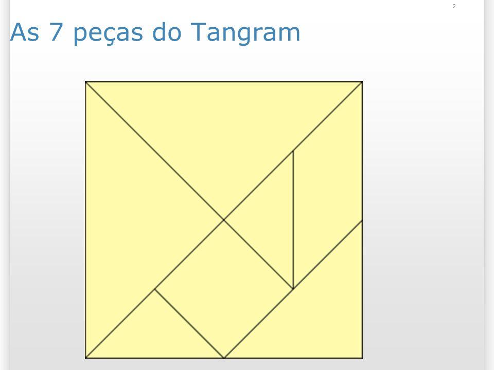 As 7 peças do Tangram 2