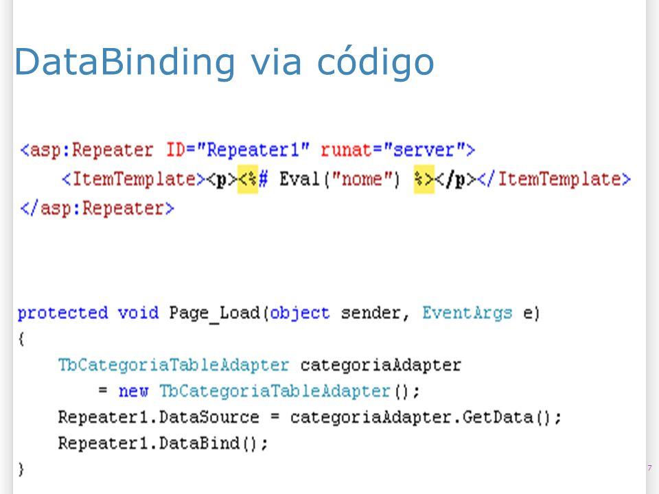 DataBinding via código 725/07/09