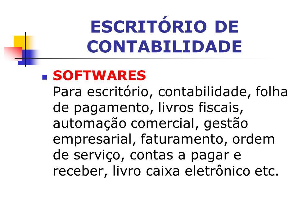 ESCRITÓRIO DE CONTABILIDADE A principal ferramenta de trabalho do contador é o Código de Ética do Contabilista. O responsável pelo serviço tanto pode