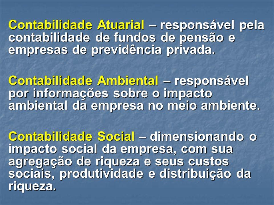 Contabilidade Financeira – responsável pela elaboração e consolidação das demonstrações contábeis para fins externos. Análise Econômico-financeira – a