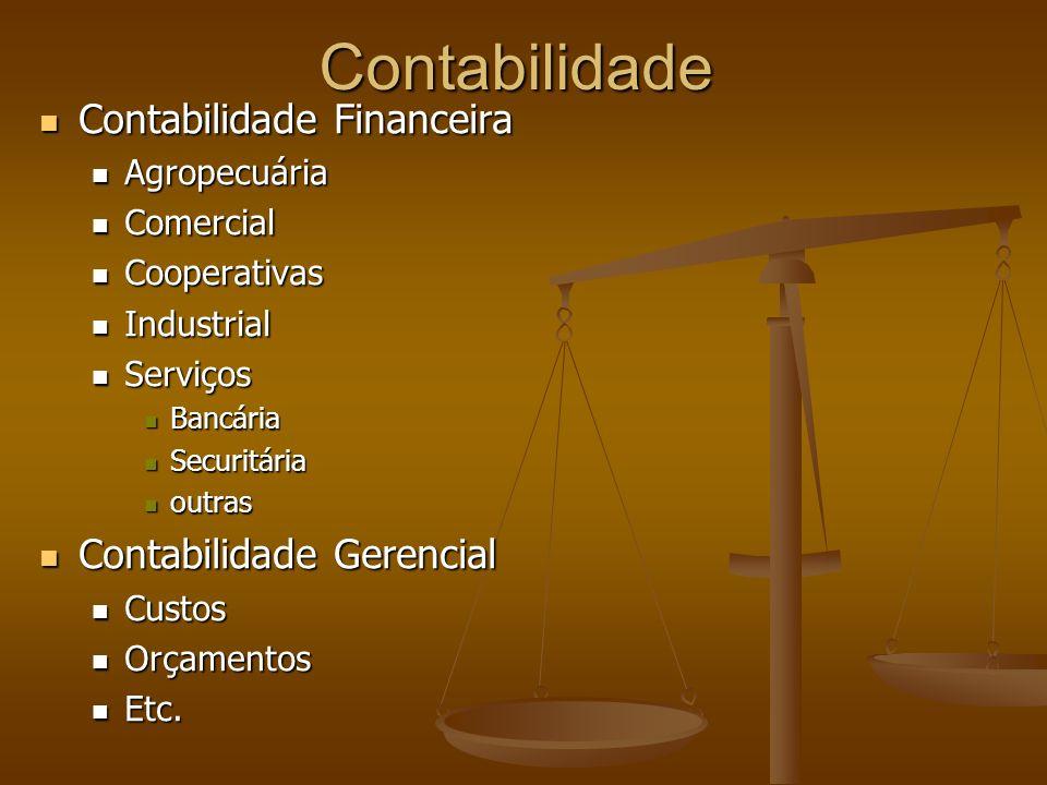 Contabilidade Contabilidade Financeira Contabilidade Financeira Agropecuária Agropecuária Comercial Comercial Cooperativas Cooperativas Industrial Ind