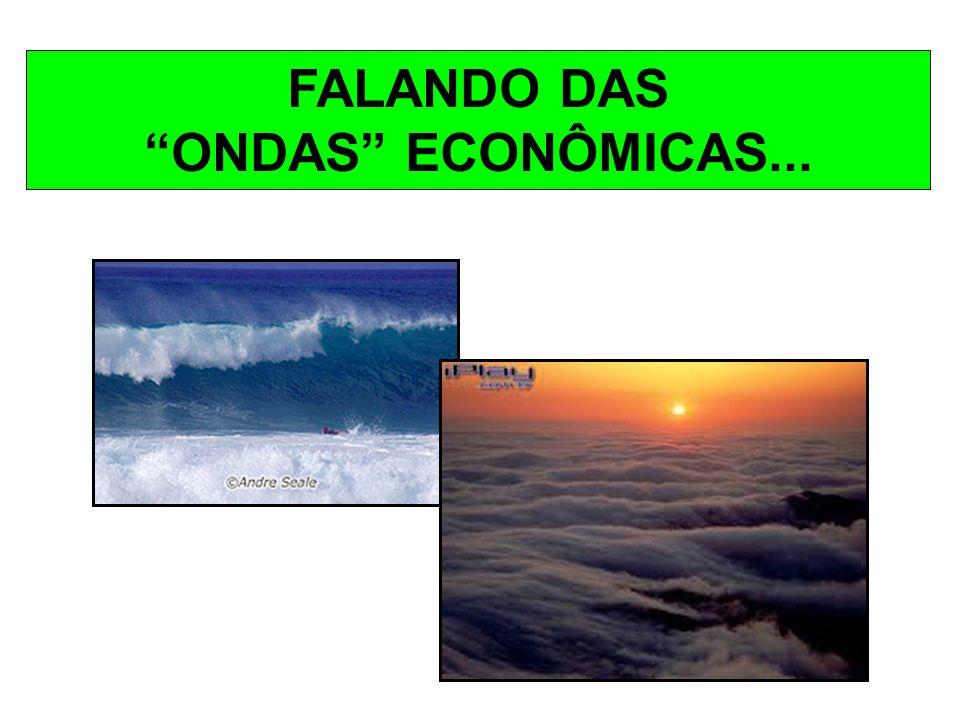 FALANDO DAS ONDAS ECONÔMICAS...