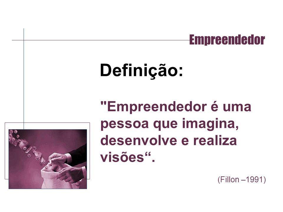 Empreendedor Definição: