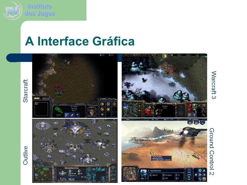 A Interface Gráfica Starcraft Outlive Ground Control 2 Warcraft 3