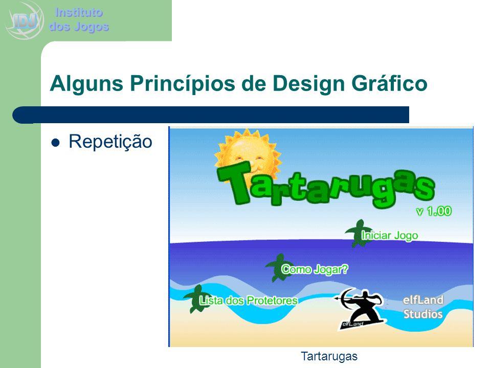Alguns Princípios de Design Gráfico Repetição Tartarugas