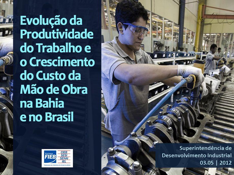 1 Superintendência de Desenvolvimento Industrial 03.05 | 2012