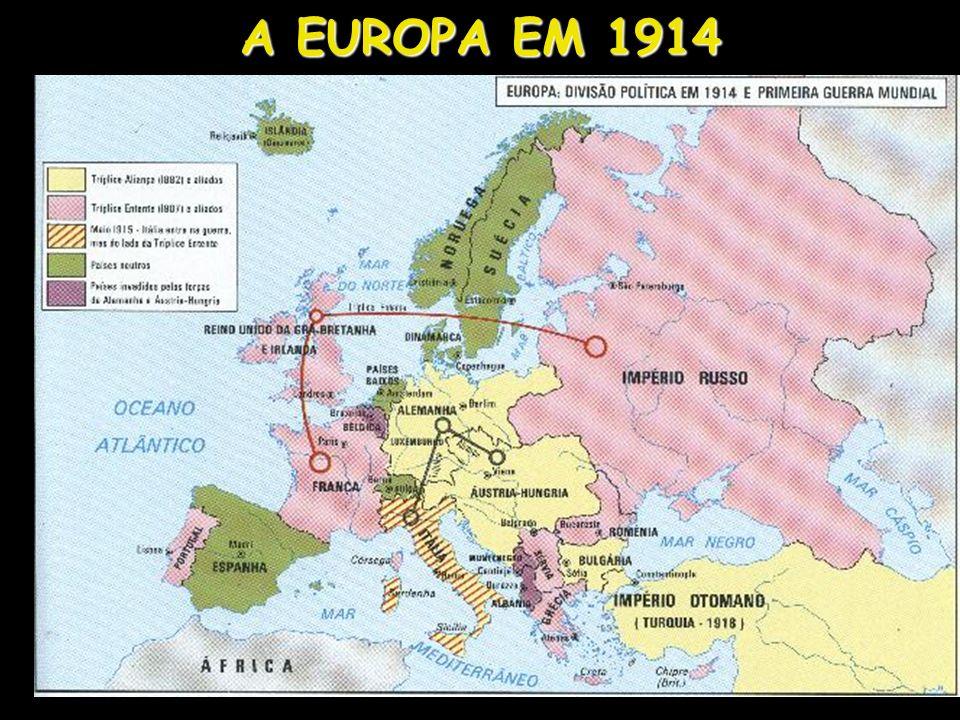 A EUROPA EM 1914