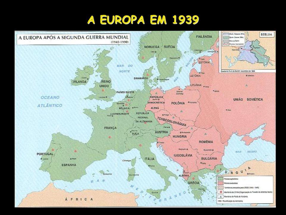 A EUROPA EM 1939