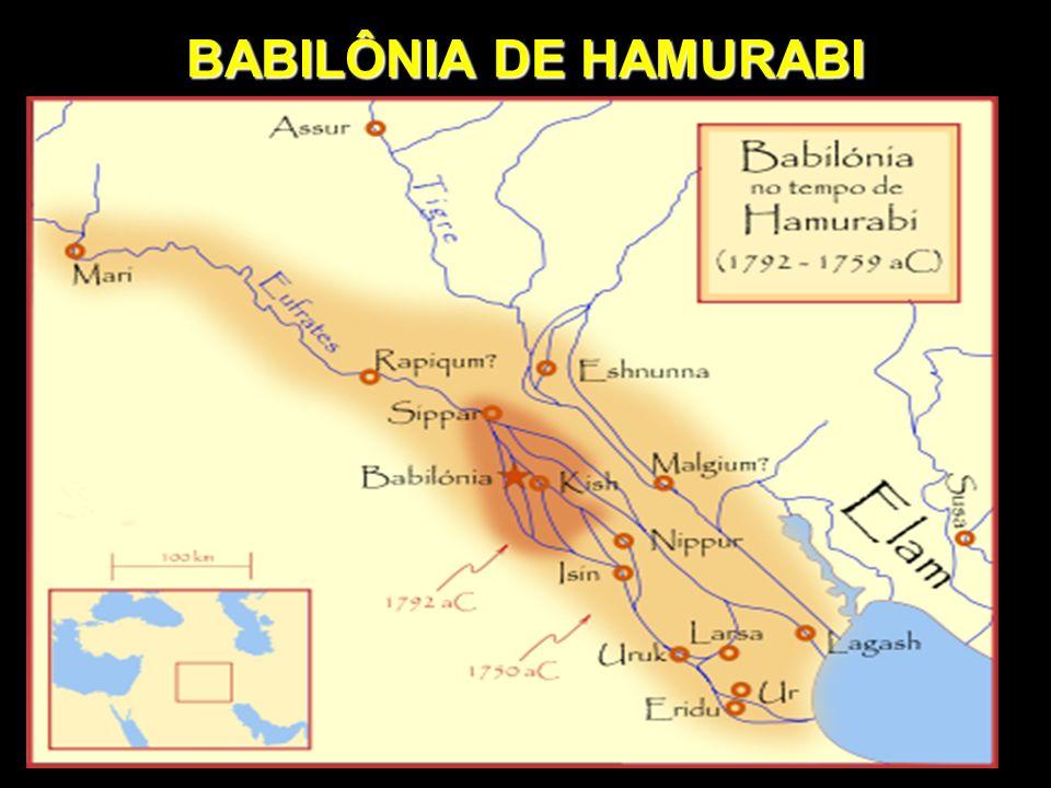 BABILÔNIA DE HAMURABI
