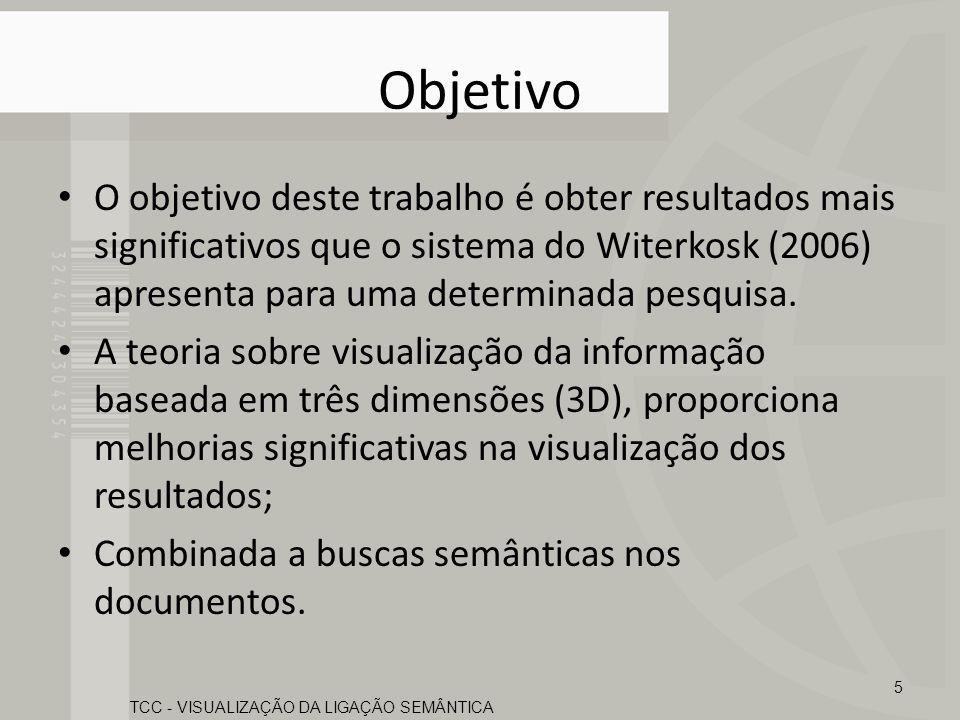 Objetivo O objetivo deste trabalho é obter resultados mais significativos que o sistema do Witerkosk (2006) apresenta para uma determinada pesquisa. A