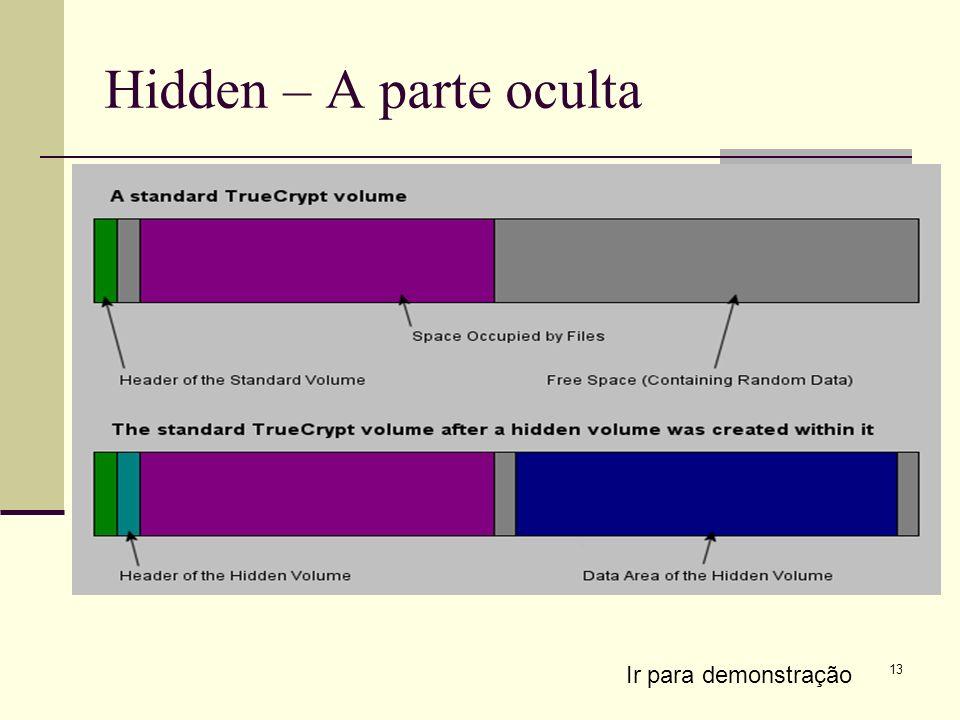 13 Hidden – A parte oculta Ir para demonstração
