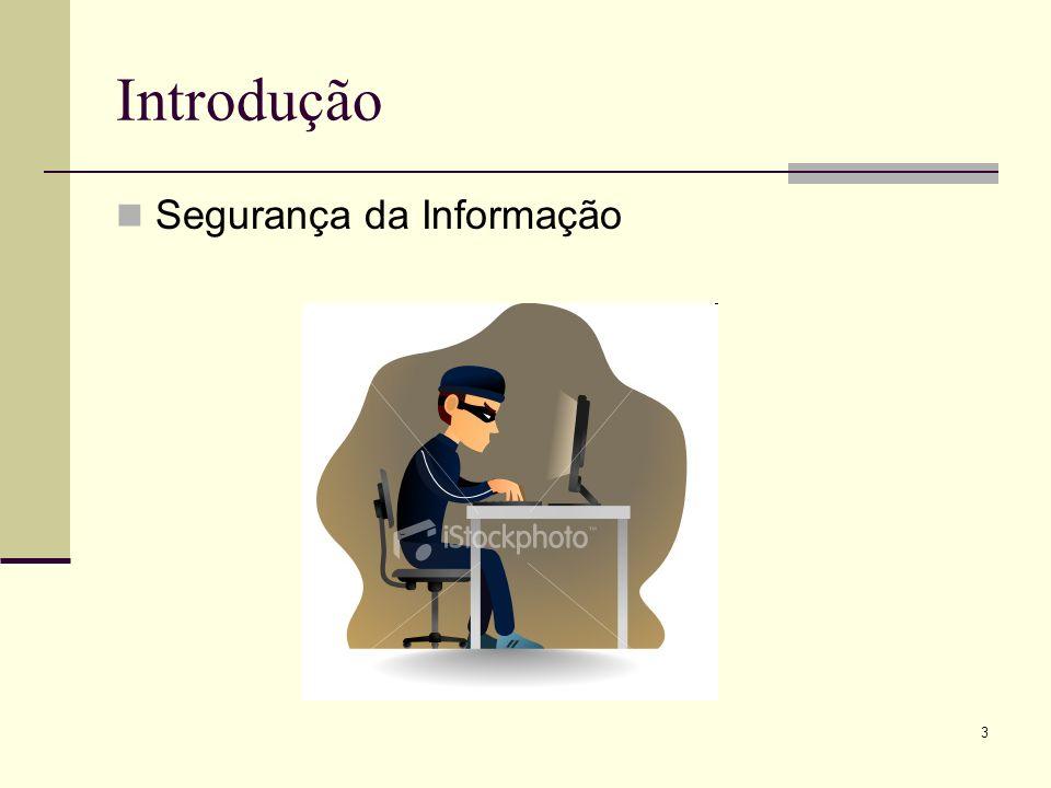 3 Introdução Segurança da Informação