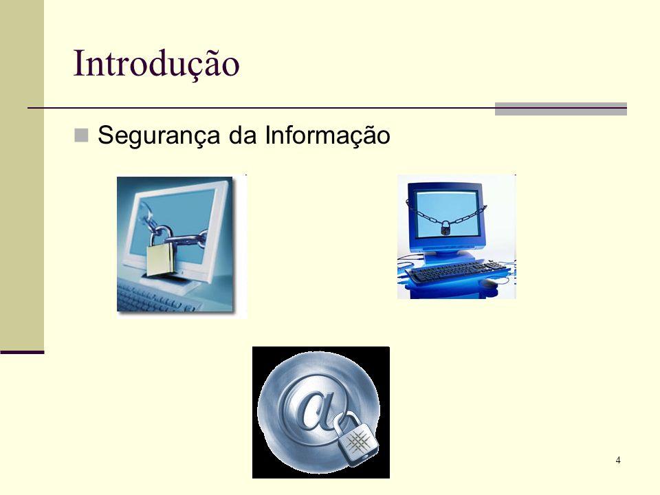 4 Introdução Segurança da Informação