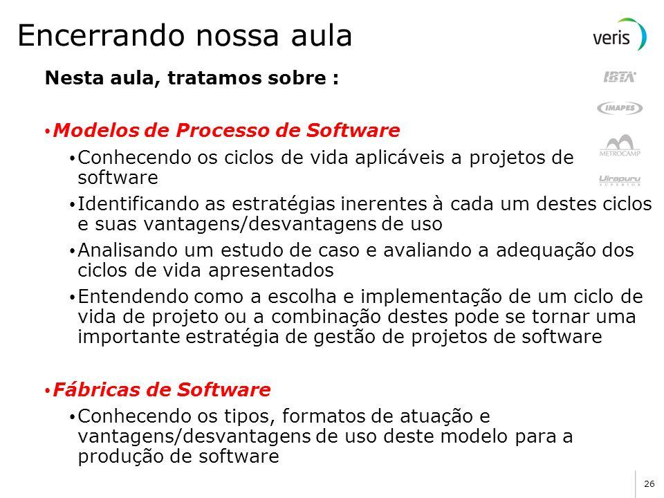 Base Única de Projeto Fábrica de Software