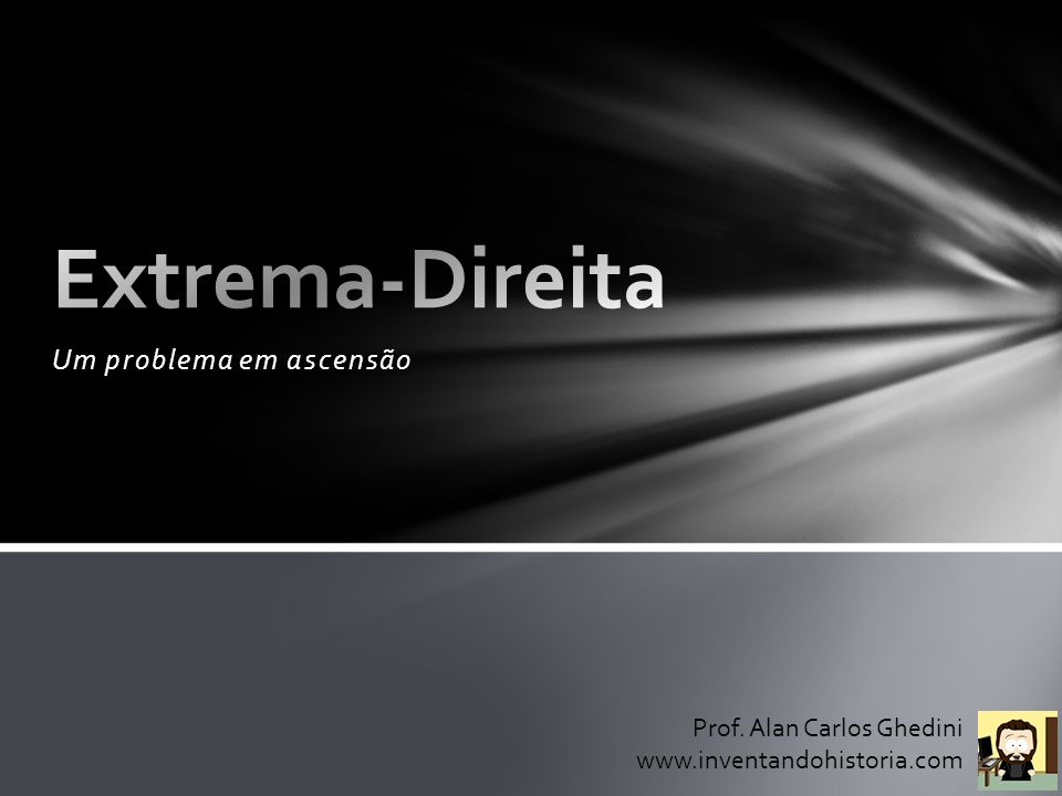 Um problema em ascensão Prof. Alan Carlos Ghedini www.inventandohistoria.com