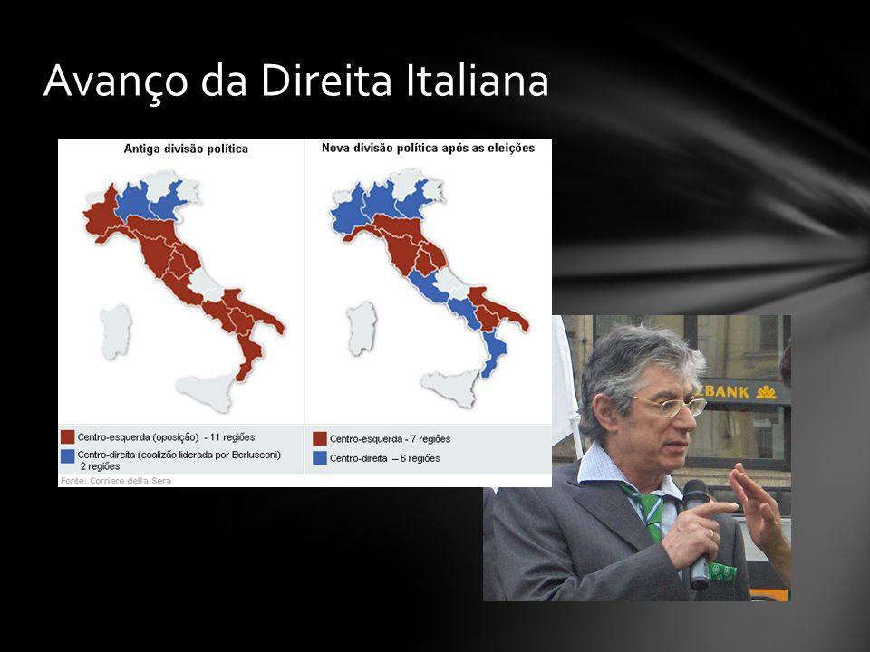 Avanço da Direita Italiana