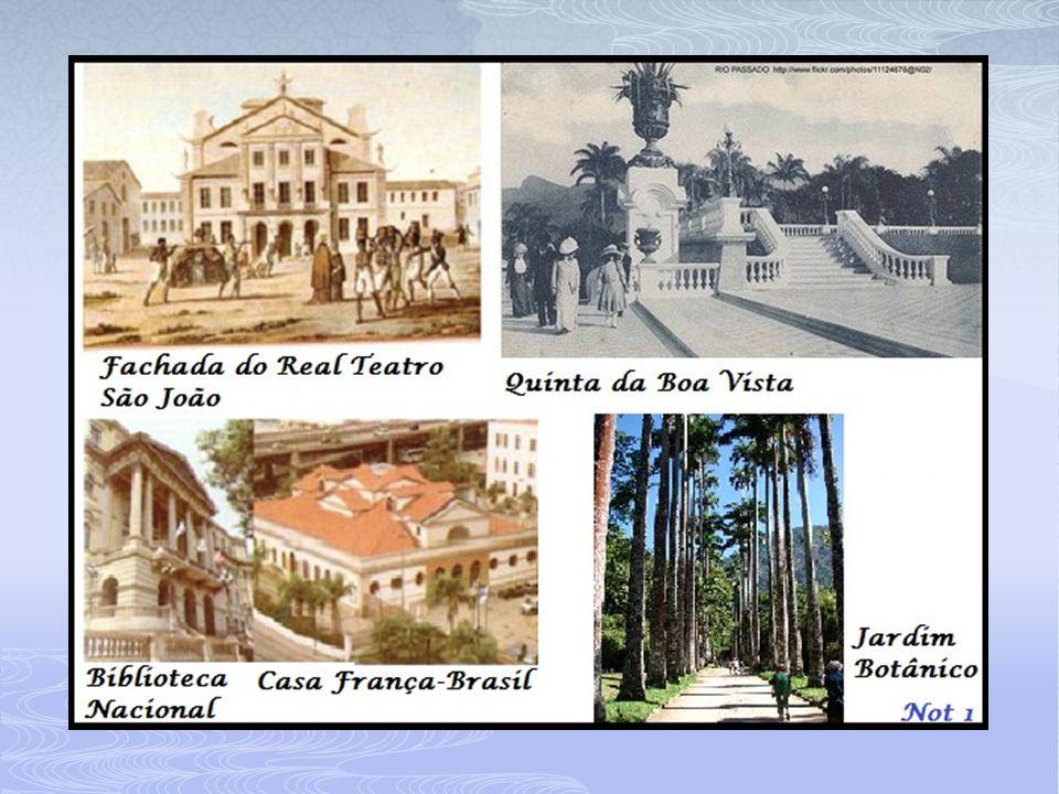 1815 – O Brasil é elevado a categoria de capital do Reino Unido de Portugal, Brasil e Algarves Obs.: o fim do Pacto Colonial (Abertura dos Portos) e a elevação a Capital, abriria o gosto das elites pela liberdade política e de comércio.