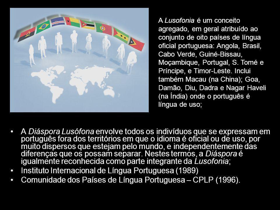 A Diáspora Lusófona envolve todos os indivíduos que se expressam em português fora dos territórios em que o idioma é oficial ou de uso, por muito disp