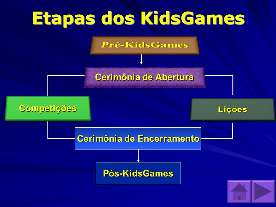 Etapas dos KidsGames Cerimônia de Encerramento Pós-KidsGames Cerimônia de Abertura Cerimônia de Abertura Cerimônia de Abertura Cerimônia de Abertura C
