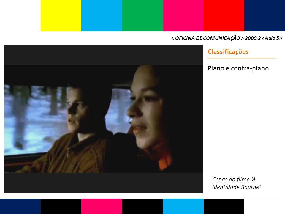2009.2 Classificações Plano e contra-plano Cenas do filme A Identidade Bourne