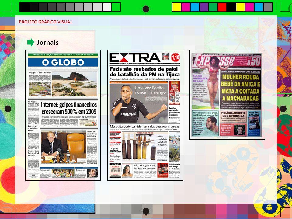 PROJETO GRÁFICO VISUAL Jornais