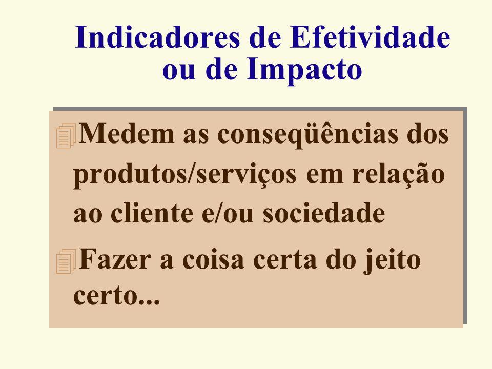 Indicadores da Capacidade O que são Os Indicadores da Capacidade medem a capacidade de resposta de um processo por meio da relação entre as saídas pro