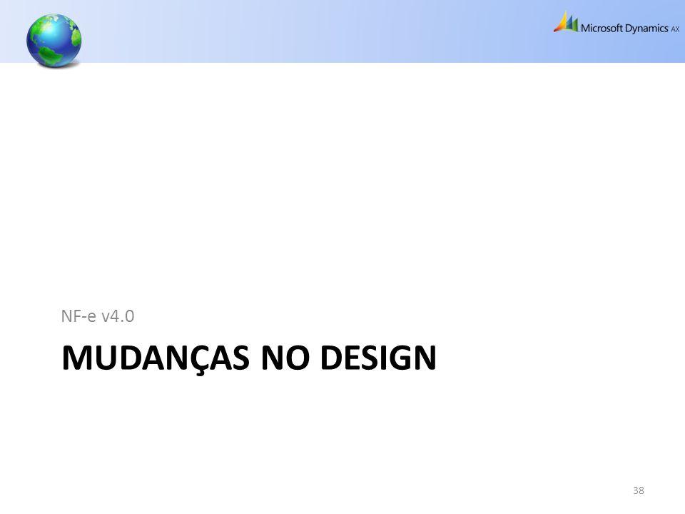 MUDANÇAS NO DESIGN NF-e v4.0 38