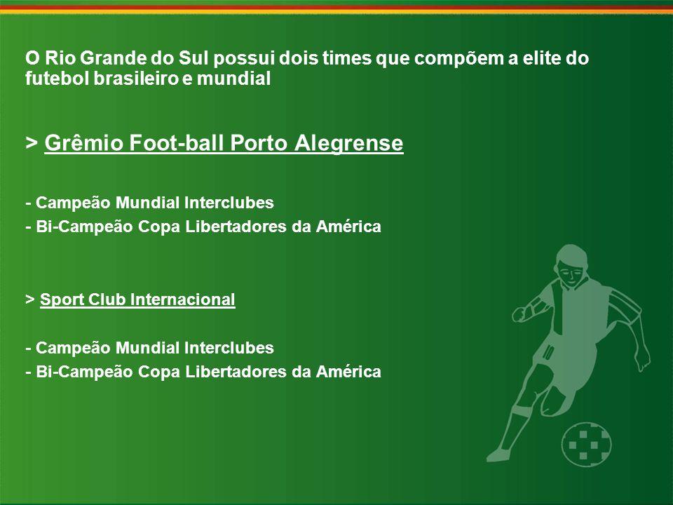 > Grêmio Foot-ball Porto Alegrense - Campeão Mundial Interclubes - Bi-Campeão Copa Libertadores da América > Sport Club Internacional - Campeão Mundia