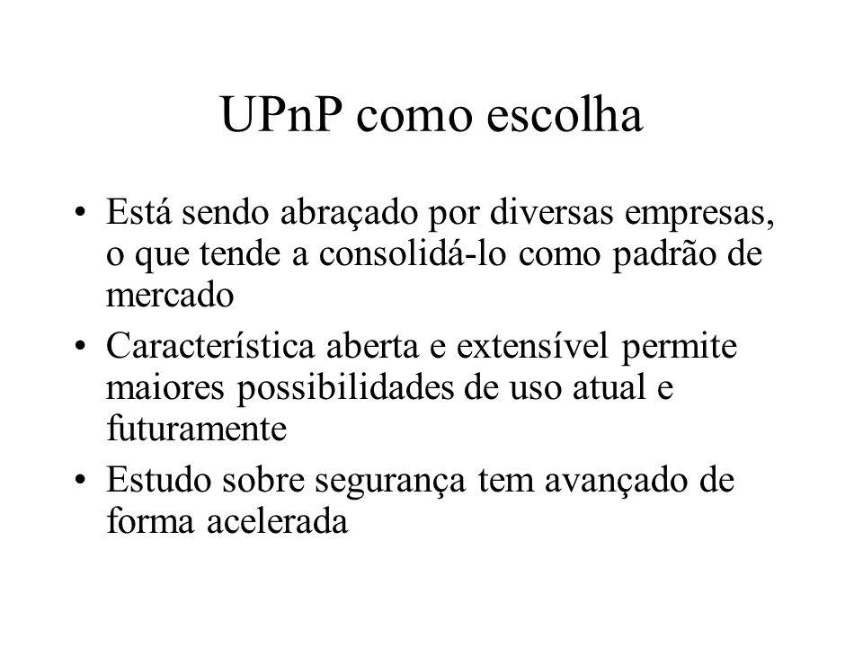 Exemplo prático UPnP Network Light Media Streaming