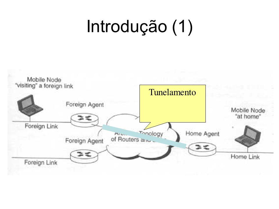 Referências Mobile IP – The Internet Unplugged, James D.