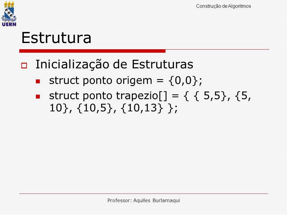 Construção de Algoritmos Professor: Aquiles Burlamaqui Modularização Funções Variáveis Locais Variáveis Globais Passagem de parâmetros por valor