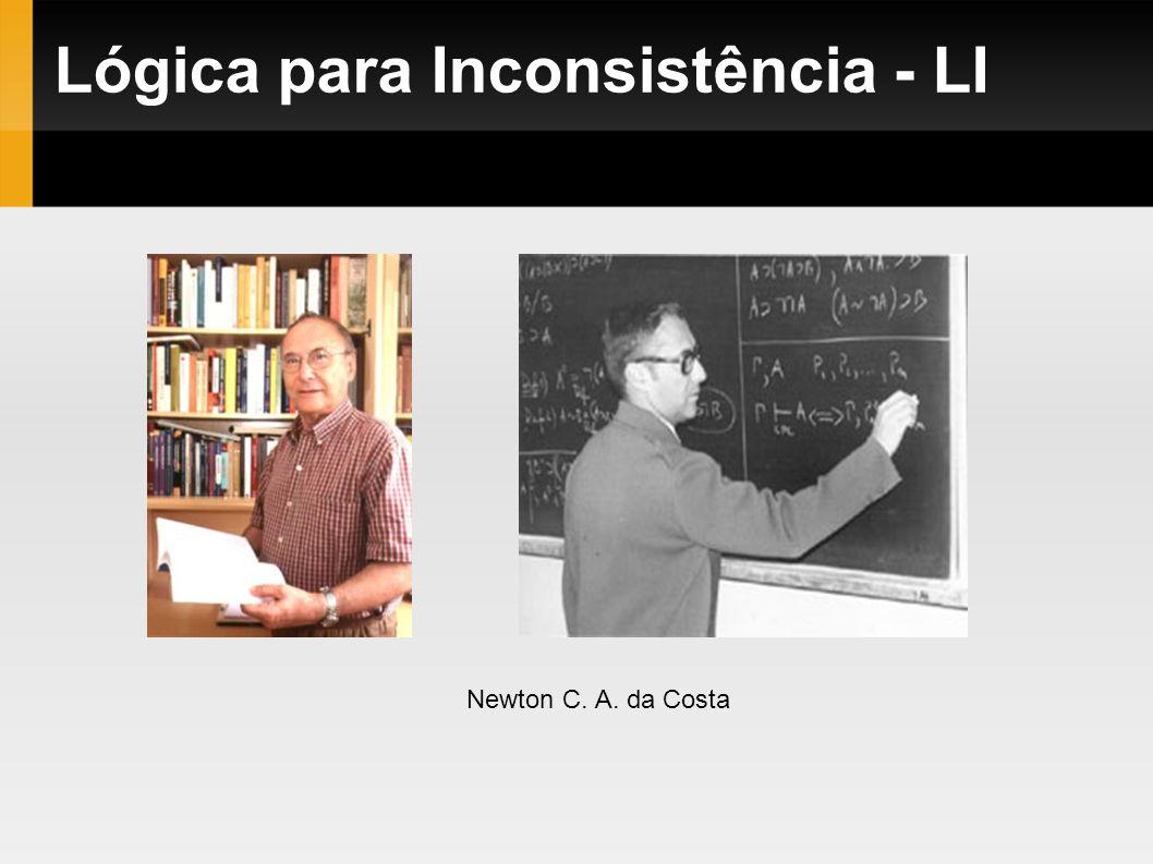 Lógica para Inconsistência - LI Newton C. A. da Costa