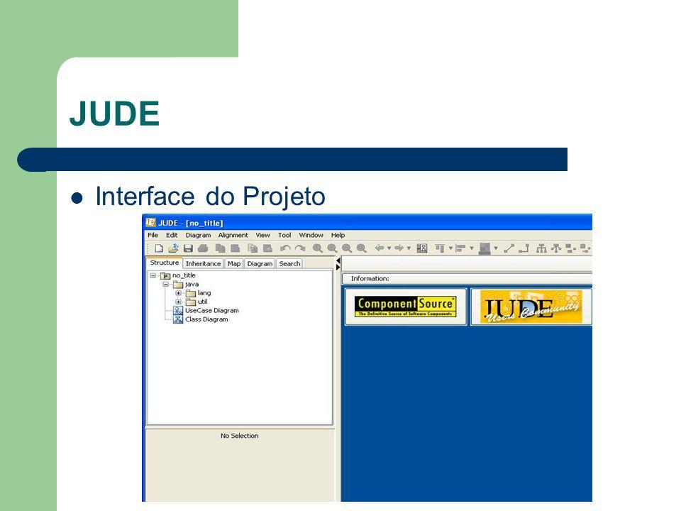 JUDE Interface do Projeto