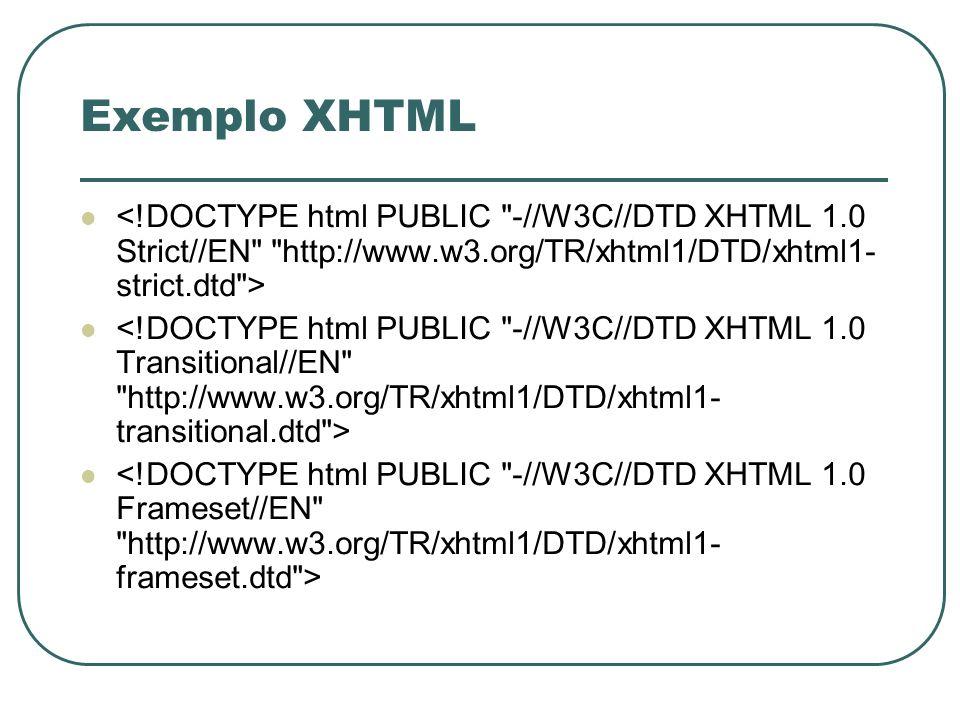 CSS Padrão de formatação para documentos HTML/XHTML Permite: Maior versatilidade no desenvolvimento de design para sítios sem aumentar o seu tamanho Controle maior sobre os atributos tipográficos (tamanho/cor das fontes, espaçamento linhas/caracteres) Sobreposição de texto sobre texto/imagem Utilização de layers (camadas)