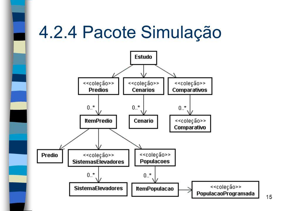 15 4.2.4 Pacote Simulação