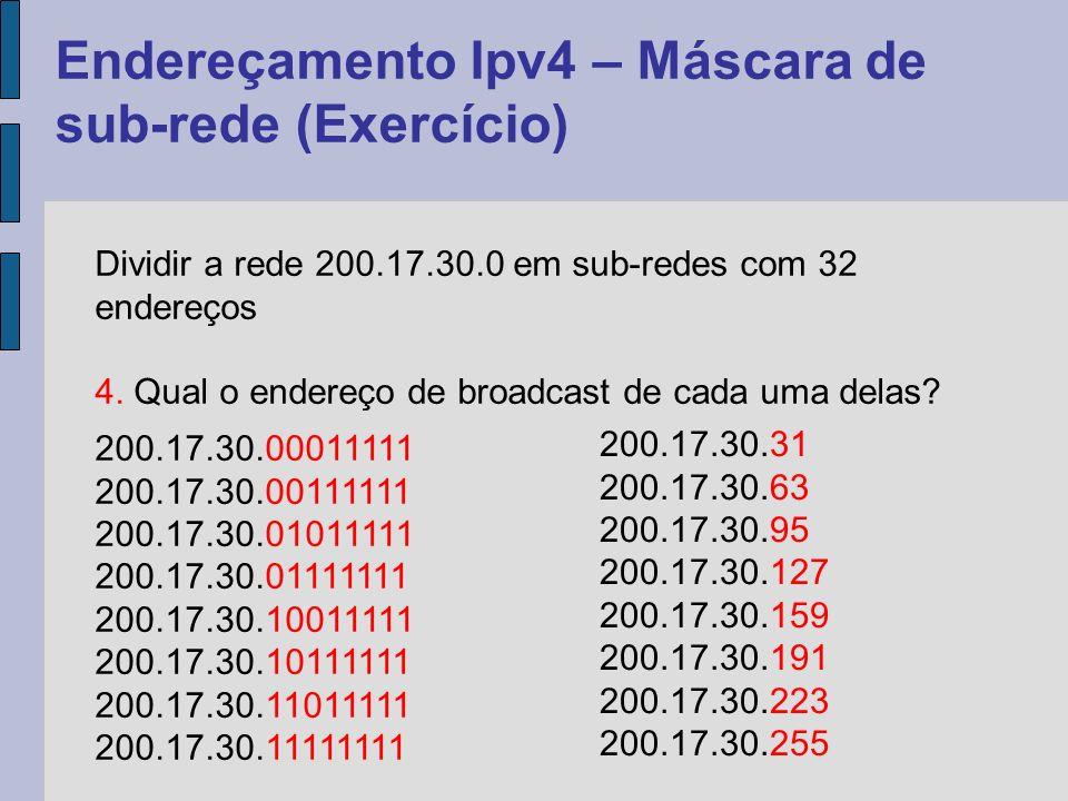 A divisão tradicional, com as classes A, B e C de endereços IP fazia com que um grande número de endereços fossem desperdiçados.
