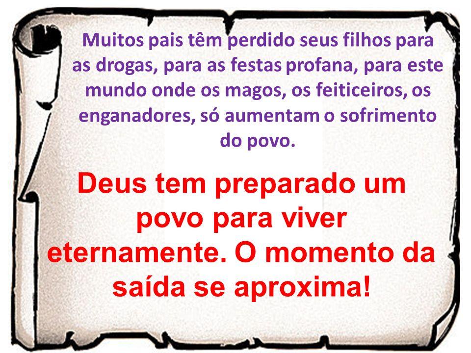 O SANGUE DO CORDEIRO SEM MÁCULA JESUS VIVO O PREPARO PARA A SAÍDA