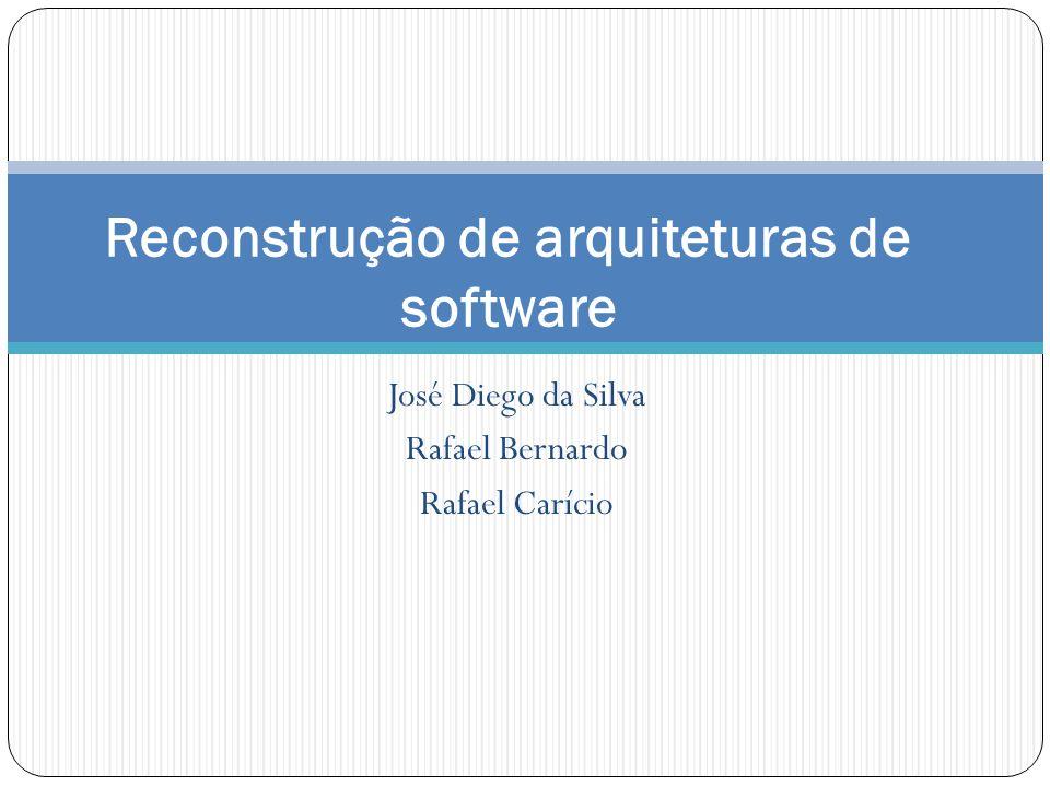 José Diego da Silva Rafael Bernardo Rafael Carício Reconstrução de arquiteturas de software