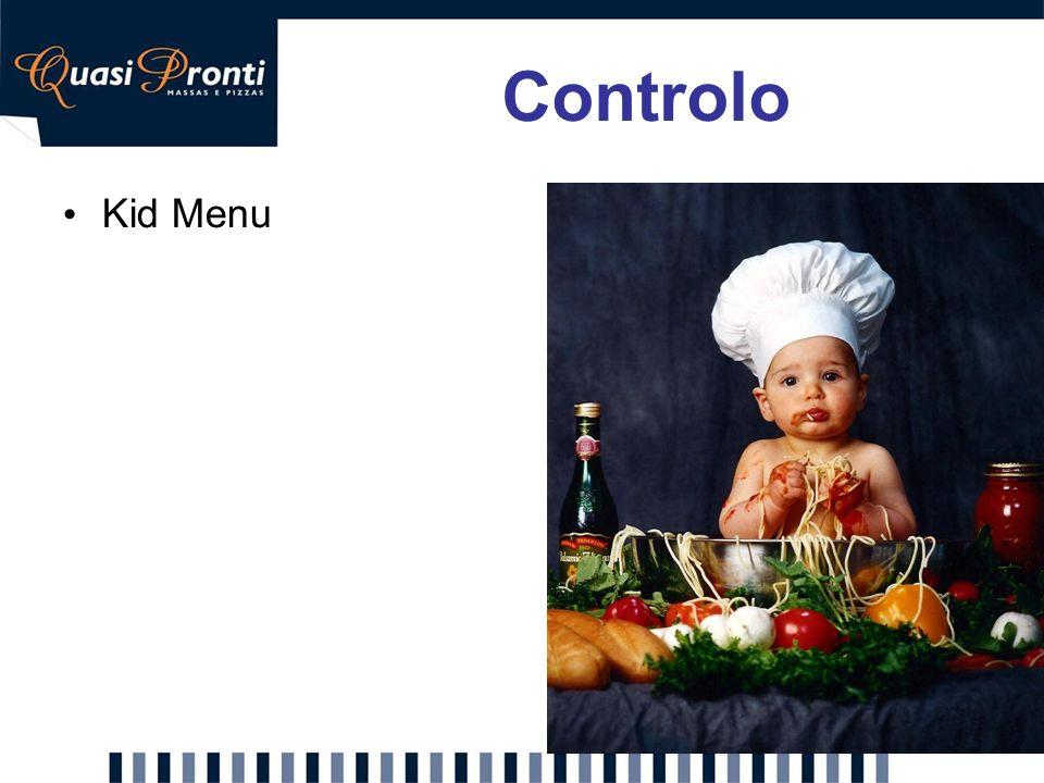 Kid Menu Controlo