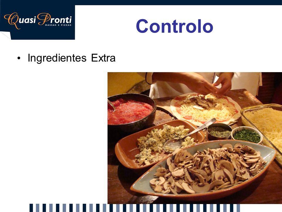 Ingredientes Extra Controlo