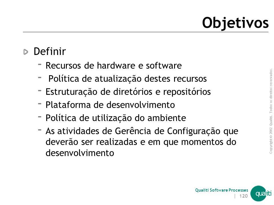 Qualiti Software Processes Disciplina de Gerência de Configuração e Ambiente