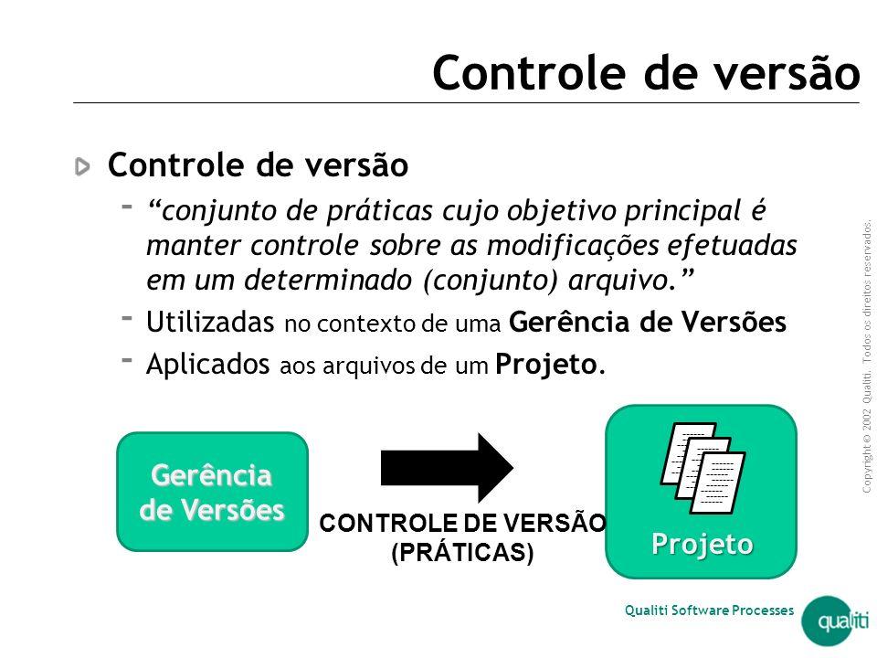 Qualiti Software Processes Sistemas de Controle de Versão